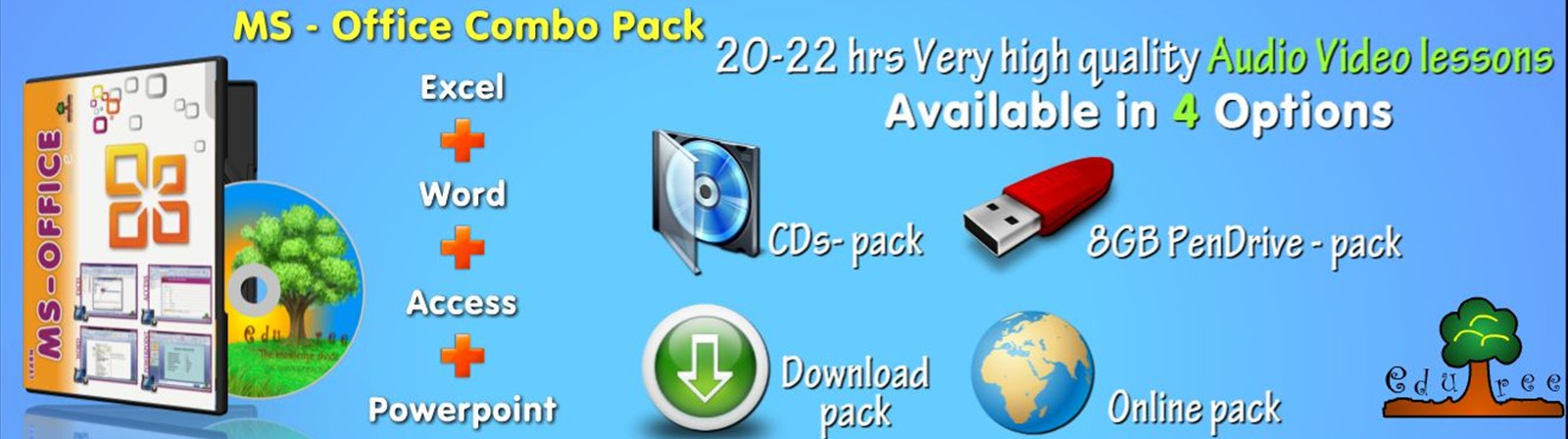 ms office combo pack